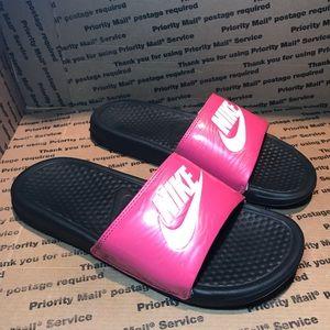 Women's Pink Nike Slides! Awesome Slides! Size 8